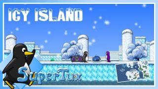 SuperTux - Icy Island • Longplay/Walkthrough (v0.6.2)
